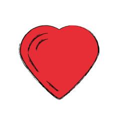 Lovely heart symbol vector