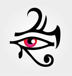 The eye of Horus vector image
