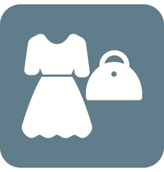 Ladies shopping vector