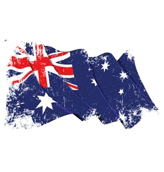 Grange flag of australia vector