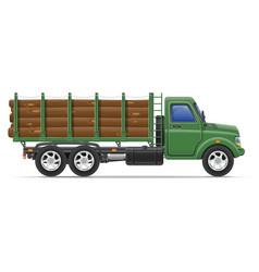 Cargo truck concept 11 vector
