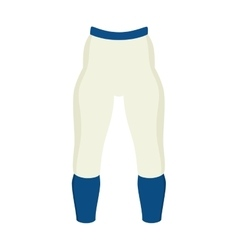 Pants american football sport icon vector