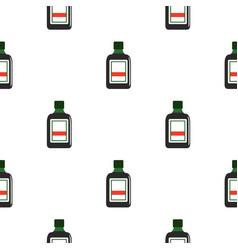 Plastic bottle pattern seamless vector