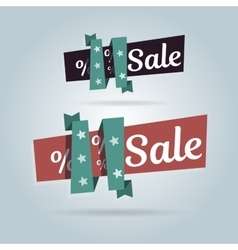 Realistic curved banner Super Sale special offer vector image