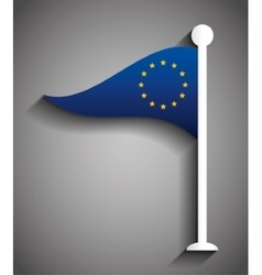European union flag design vector
