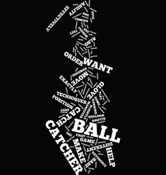 Techniques for the catcher text background word vector