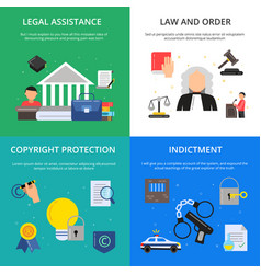 Conceptual pictures of criminal justice vector