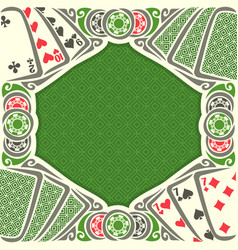 Image black jack for text vector
