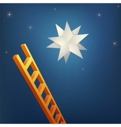 Reaching the star vector