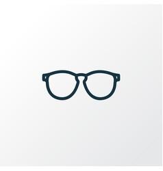 sunglasses outline symbol premium quality vector image vector image