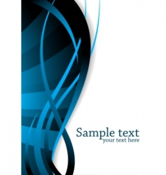 vector blue background vector image