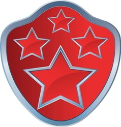 RED STAR AMBLEM 4 resize vector image