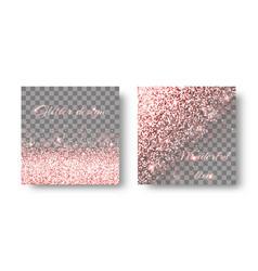 burst pink background vector image