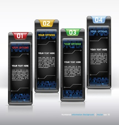Modern web design template vector image