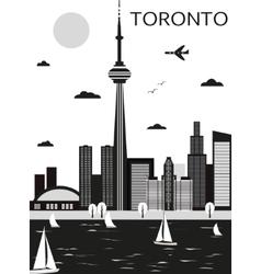 Toronto Canada vector image