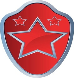 RED STAR AMBLEM 2 resize vector image