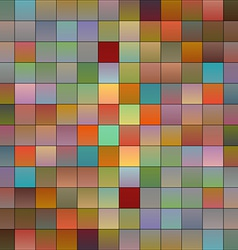 Colorful pixels 3 vector image