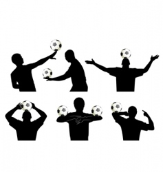 Soccer skills vector