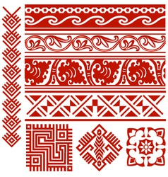 tribal border vector image vector image