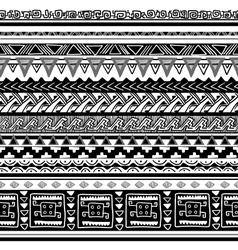 tribal texture vector image