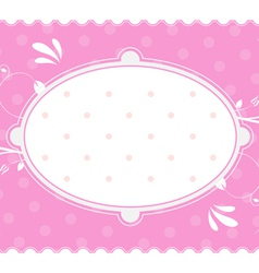 vintage background and frame vector image vector image