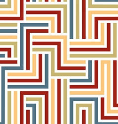 Colorful maze seamless pattern vector
