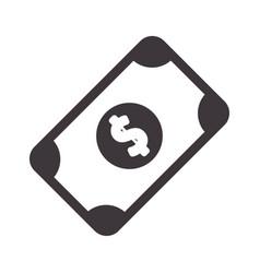 Bill cash money to buy vector