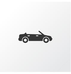 cabriolet icon symbol premium quality isolated vector image