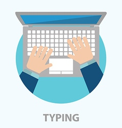 Typing vector