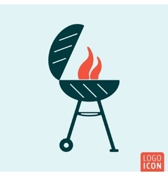 Barbecue bbq icon vector