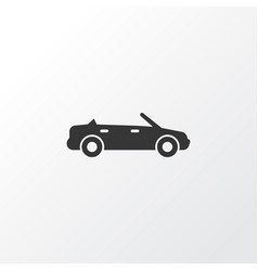 cabriolet icon symbol premium quality isolated vector image