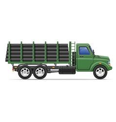 cargo truck concept 12 vector image