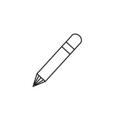 pen edit icon vector image vector image