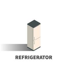refrigerator icon symbol vector image