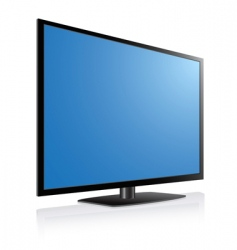 Plasma tv vector