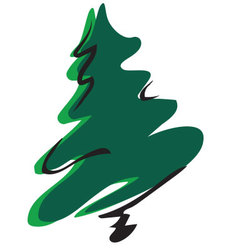 Christmastree preview vector
