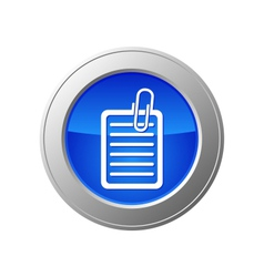 document button vector image vector image
