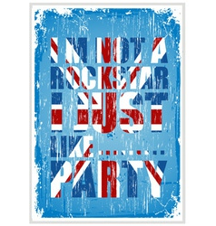 Party Britain vector image vector image