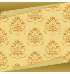 fabric sample vector image