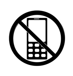 No cell sign vector