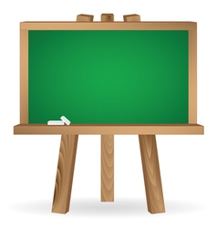 green school board vector image