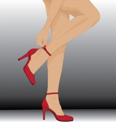 Aw legs vector