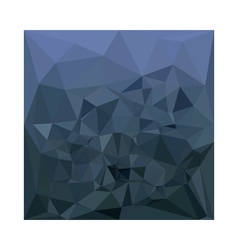 Medium slate blue abstract low polygon background vector