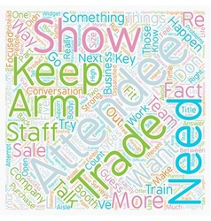 Strong arm sales stop success cold text background vector