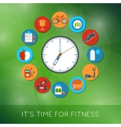 Time for fitness vector