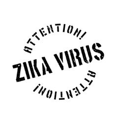 Zika virus rubber stamp vector