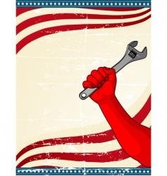 Labor day icon vector