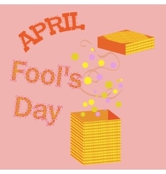1 april fools day vector