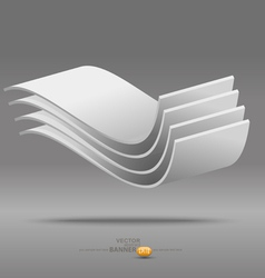 Abstract poster background vector