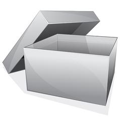 empty box vector image vector image